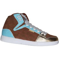 Baskets montantes Vision Street Wear samples shoes  ROSARITA BROWN GOLD WOMEN
