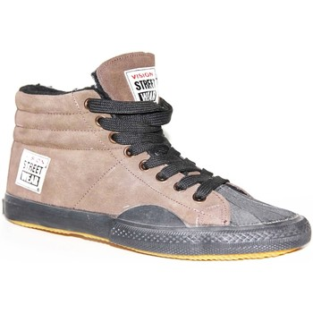 Baskets montantes Vision Street Wear samples shoes  S HI FUR BROWN WOMEN
