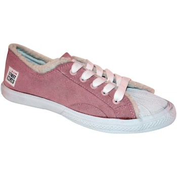 Baskets basses Vision Street Wear samples shoes  S LOW FUR PINK WOMEN