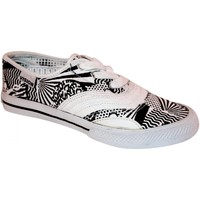 Baskets basses Vision Street Wear samples shoes  SOFIE FATALE WHITE BLACK WO