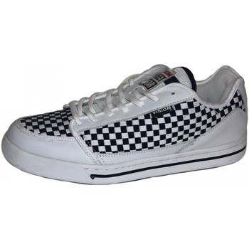 Baskets basses Vision Street Wear samples shoes  SPOT ON WHITE NAVY MEN