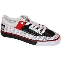 Baskets basses Vision Street Wear samples shoes  SUPER TRICK BLACK WHITE RED