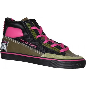 Baskets montantes Vision Street Wear samples shoes  SUPER TRICK HI BLACK MOSS M