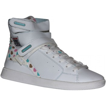 Baskets montantes Vision Street Wear samples shoes  ULTRA HI TOP WHITE WOMEN