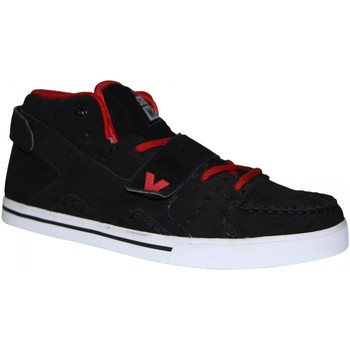 Baskets basses Vision Street Wear samples shoes VISION VELC MID BLACK RED WHITE MEN
