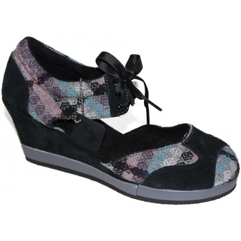 Chaussures Femme Escarpins Etnies samples shoes WEDGE  FINA GREY BLACK WOMEN Gris