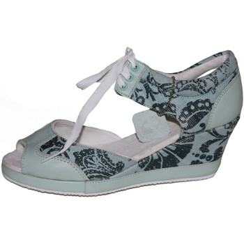 Sandales et Nu-pieds Etnies samples shoes WEDGE  PHOEBE GREEN WHITE WOMEN