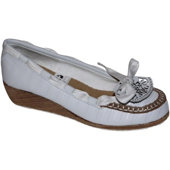 Mocassins Etnies samples shoes WEDGE  SUSI WHITE TAN WOMEN