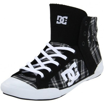 Baskets montantes DC Shoes CHELSEA Z HSE Black White Plaid