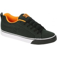 Chaussures Homme Baskets basses DC Shoes Basket Homme  COURT VULC TX Black Blazing Orange Un grand classi Noir