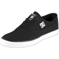 Baskets basses DC Shoes FLASH TX Black White