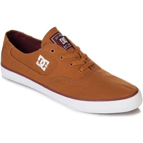 DC Shoes Baskets Femme  FLASH TX Wheat White Beige - Chaussures Baskets basses Homme
