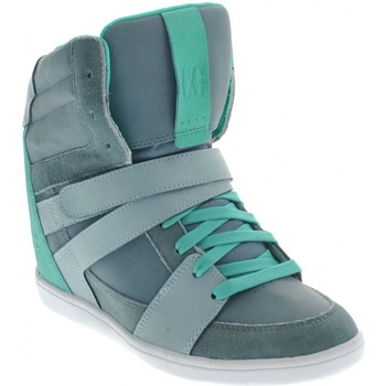 Baskets montantes DC Shoes MIRAGE MID Compensées Blue Haze