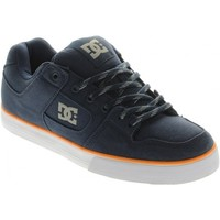 Baskets basses DC Shoes PURE SLIM TX Dark Blue