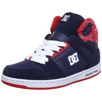 Baskets montantes DC Shoes REBOUND HIGH SE Navy Red