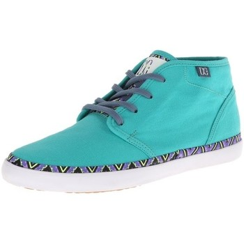 Baskets montantes DC Shoes STUDIO MID LTZ Green Yellow