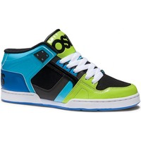 Baskets montantes Osiris Sample NYC83 Lime Black Cyan taille 42 US9