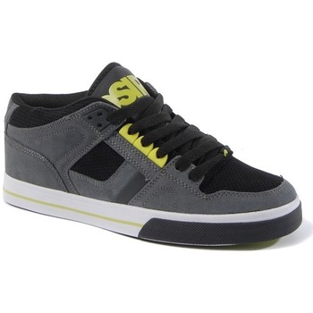 Chaussures Homme Baskets basses Osiris NYC83 MID Charcoal black lime  EU 42 US9 Gris
