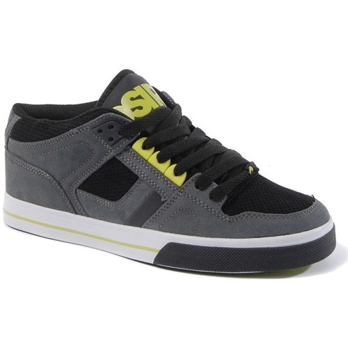 Osiris Sneakers Homme  NYC83 MID Charcoal black lime  EU 42 US9 Sample Gris - Chaussures Baskets basses Homme