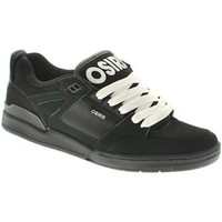 Chaussures Homme Baskets basses Osiris Basket Homme DEVISE Charcoal Black EU42 9US Skate shoes vintag Blanc