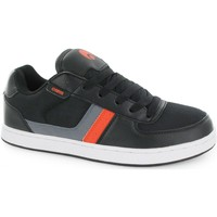 Chaussures Homme Baskets basses Osiris Basket Homme Relic Black Charcoal Black EU42 9US skate shoes De Noir
