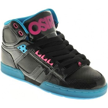 Chaussures Homme Baskets montantes Osiris Sample  NYC 83 SLM Black Cyan EU37.5 USW7 Noir