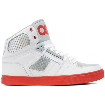 Chaussures Homme Baskets montantes Osiris Sneakers Homme Sample   NYC 83 White grey red US 9 EU 42 modèle Noir