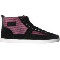 Chaussures Homme Baskets montantes Osiris Currency Black pink white (Sample modèle exposition 4 Noir