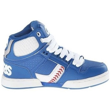 Baskets montantes Osiris enfant NYC83 Blue white red (sample modèle expo Y13 U