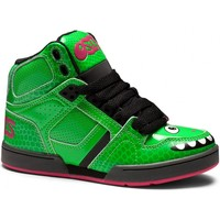 Baskets montantes Osiris enfant NYC83 Green Black pink (sample modèle expo Y13