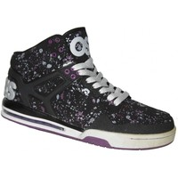 Chaussures Homme Baskets montantes Osiris Sample  Rucker Black grey purple 42  9US Noir