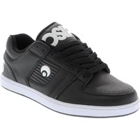 Chaussures Homme Baskets basses Osiris Sample Script Black black white taille 42 (9US) Noir