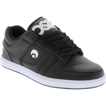 Chaussures Homme Baskets basses Osiris Baskets Homme Sample Script Black black white taille 42 Noir