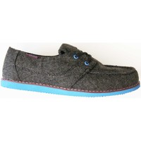 Chaussures Homme Mocassins Osiris Yachter Charcoal purple blue (sample modèle expositio Gris