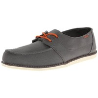 Chaussures Homme Mocassins Osiris Yachter Grey Tan Orange (sample modèle exposition 42 Gris