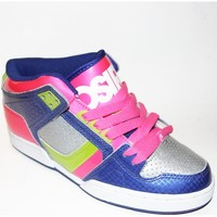 Chaussures Homme Baskets montantes Osiris Sample NYC 83 MID Blue sil pk EU37.5 USW7 MULTICOLORE