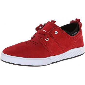 Chaussures Homme Baskets basses Osiris Basket Homme skate shoes slim  DUFFEL KICK BACK Red red EU42 9US Rouge