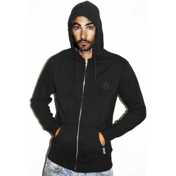 Vêtements Homme Sweats Darkstar Hoody Sweat capuche zippé  Lorzipper Noir Gris