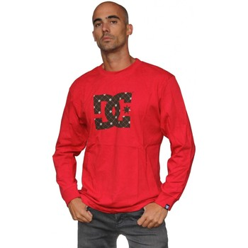 Vêtements Homme T-shirts manches longues DC Shoes Tee shirt manches longues  Star Red Marron