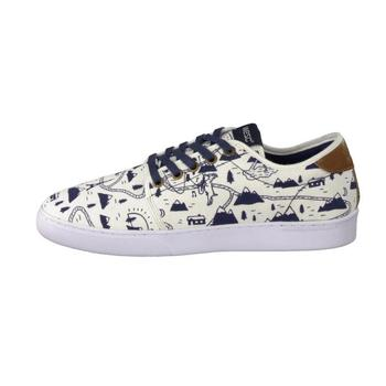 Chaussures Homme Baskets basses Wesc OFF DECK Winter white Blanc