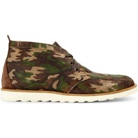 Chaussures Homme Boots Wesc LAWRENCE BOOT Camouflage Noir