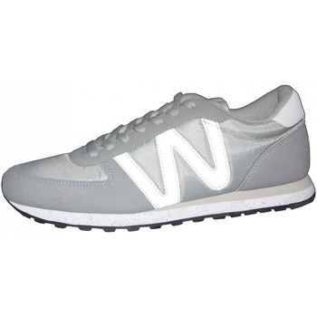 Chaussures Homme Baskets basses Wesc Gunder Pale grey Gris
