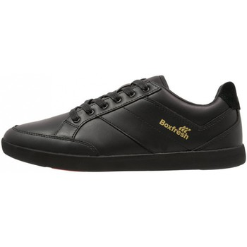 Chaussures Homme Baskets basses Boxfresh Creeland Black leather 42 US9 Noir