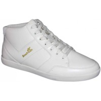 Chaussures Homme Baskets montantes Boxfresh Cheam white leather 42 US9 Blanc