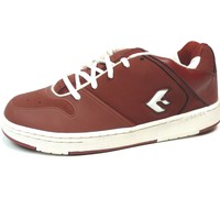 Chaussures Homme Baskets basses Savier Vintage skate shoes   Prescott Blood White US9 Rouge