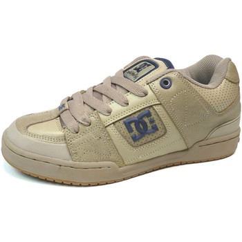 DC Shoes Baskets Homme Vintage skate shoes  DC USA Smith Wheat US9 Exclus Beige - Chaussures Baskets basses Homme
