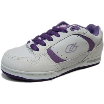 Baskets basses Gallaz Sample  Falcon White Purple US7 EU37.5