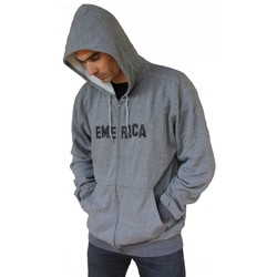 Vêtements Homme Sweats Emerica Hollywood hills grey Hoody Sweat capuche zipper Gris