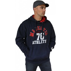 Vêtements Homme Sweats Majestic Established NY NEW YORK Yankees MLB Hood Sweat Bleu marine