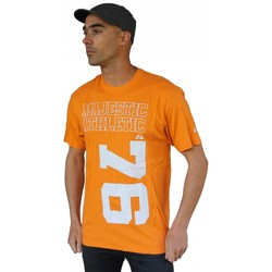Vêtements Homme Sweats Majestic 1976 Tee-shirt Collector Orange Orange